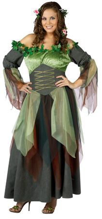 Adult Mother Nature Costume, Size S/M
