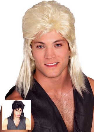 Mullet Wig - More Colors