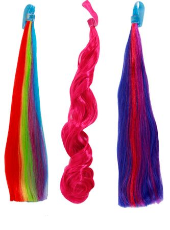 My Little Pony Tails - Twilight Sparkle and Pinkie Pie