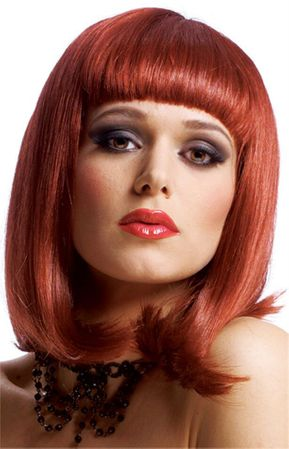 Natural Red Peggy Sue Wig