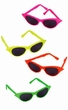 Neon Cat's Eye Sunglasses
