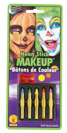 Neon Color Makeup Sticks