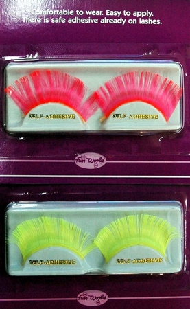 Neon False Eyelashes