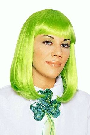 Neon Green Peggy Sue Wig