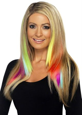 Neon Hair Extensions 2-Pack