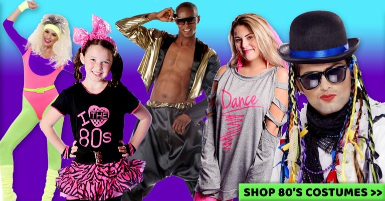New Exclusive 80s Costumes from Candy Apple