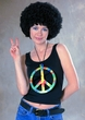 Oversize Peace Sign Necklace