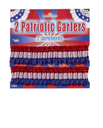 Patriotic Garter Armbands 2-Pack