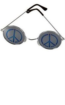 Peace Sign Lennon Sunglasses