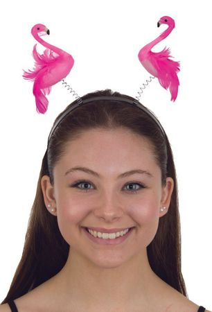 Pink Flamingo Bopper Headband