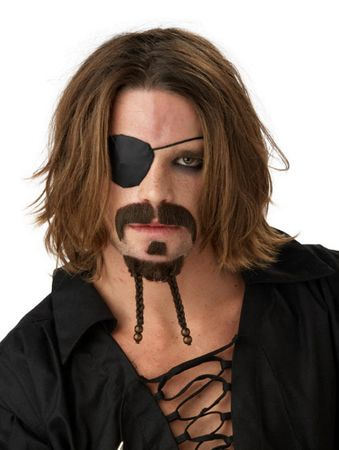 Pirate Mustache and Goatee