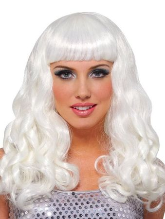 Platinum Party Girl Wig