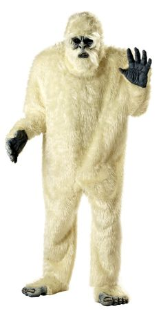 Plus Size Adult Abominable Snowman Costume