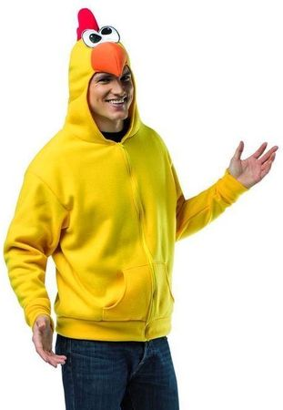 Plus Size Adult Chicken Costume Hoodie