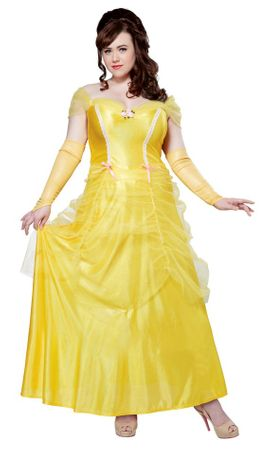 Plus Size Adult Classic Belle Costume