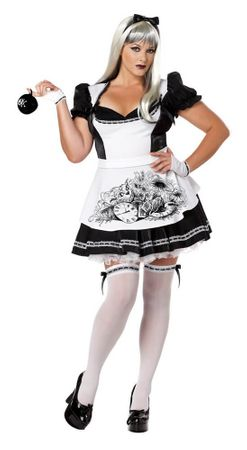 Plus Size Adult Dark Alice Costume