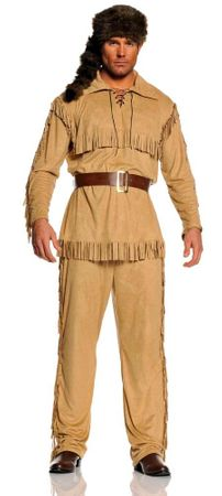 Adult Frontier Man Costume