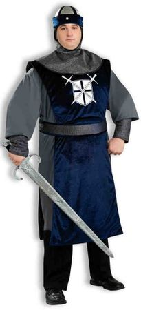 Plus Size Adult Knight of the Round Table Costume