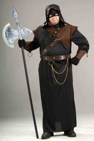 Plus Size Adult Medieval Executioner Costume