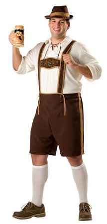 Plus Size Adult Oktoberfest Guy Costume