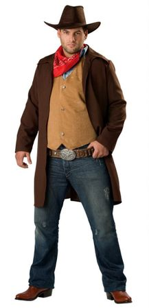 Plus Size Adult Rawhide Renegade Cowboy Costume