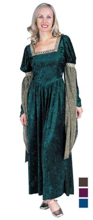 Plus Size Adult Renaissance Queen Costume