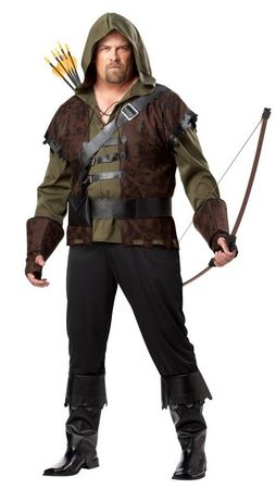 Plus Size Adult Robin Hood Costume