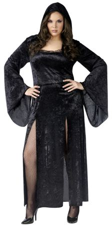 Plus Size Adult Sultry Sorceress Costume