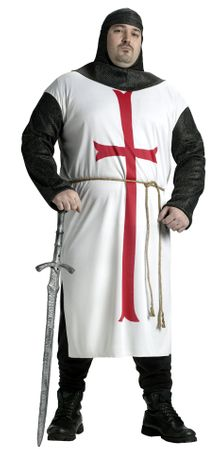 Plus Size Adult Templar Knight Costume