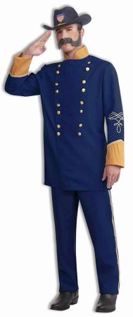 Plus Size Adult Union Officer Costume