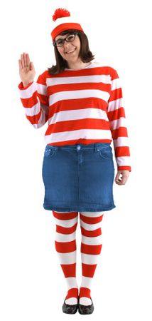 Plus Size Adult Where's Wenda Costume