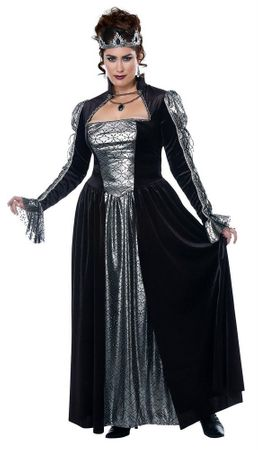 Plus Size Dark Majesty Queen Costume