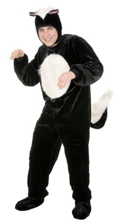 Plus Size Deluxe Adult Skunk Costume