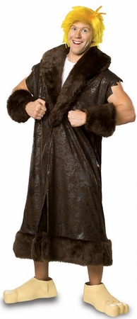 Plus Size Deluxe Barney Rubble Costume