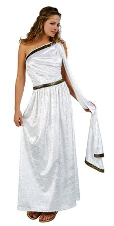 Plus Size Deluxe Long Toga Costume
