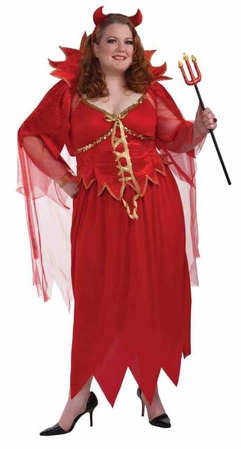 Plus Size Devil Lady XXXL Costume