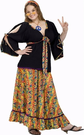 Plus Size Groovy Mama 70's Costume
