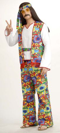 Plus Size Hippie Dippie Man Costume