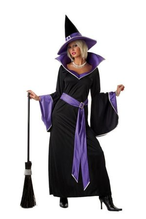 Plus Size Incantasia the Glamour Witch Costume