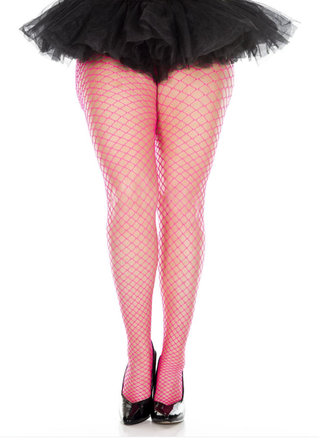 9651b25ae6b76 Plus Size Industrial Net Tights - More Colors - Candy Apple Costumes ...