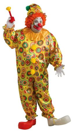 Plus Size Jack the Jolly Clown Costume