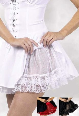 Plus Size Lacy Petticoat - More Colors