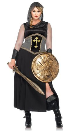 Plus Size Leg Avenue Joan of Arc Costume