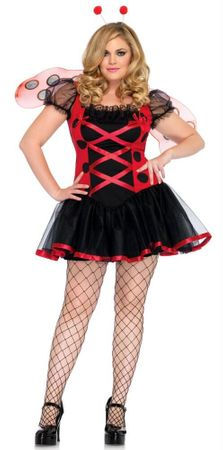 Plus Size Leg Avenue Lovely Ladybug Costume