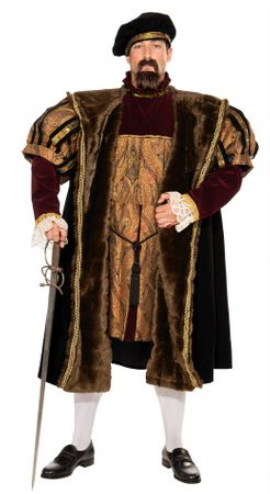 Plus Size Men's Henry VIII Costume