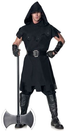 Plus Size Men's Medieval Executioner Costume