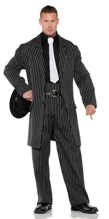 Plus Size Men's Wise Guy Gangster Costume