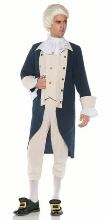 Plus Size Men's Founding Father Costume