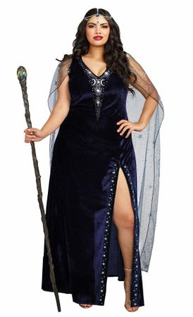 Plus Size Mystical Sorceress Costume