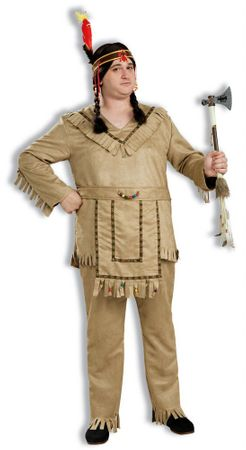 Plus Size Native American Brave Costume